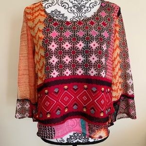 Patrons of Peace Boho Style Top